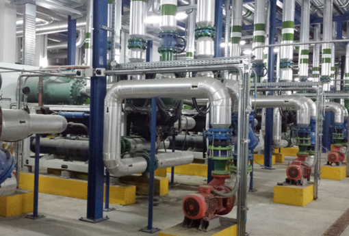 Unit climaveneta cuore dell innovativo impianto a malta for Tipi di tubi utilizzati nell impianto idraulico