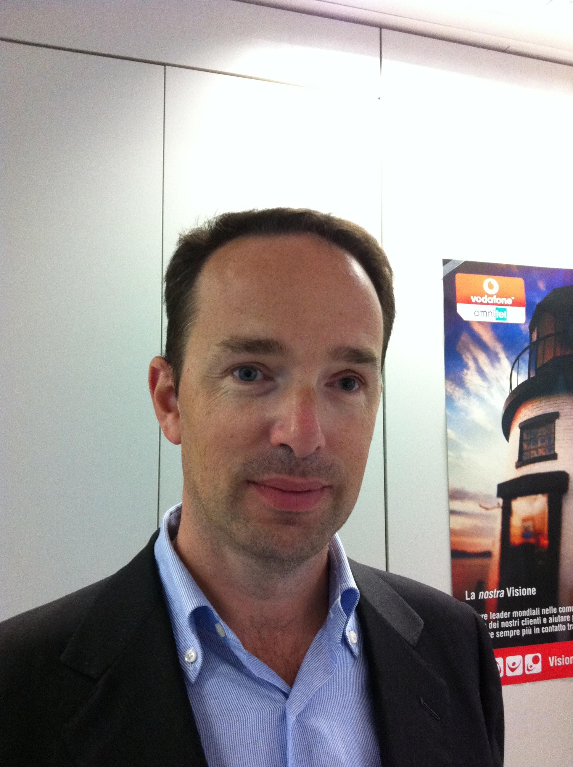 Marco Canesi, Sales Marketing Manager M2M per l'Italia e la Turchia presso Vodafone