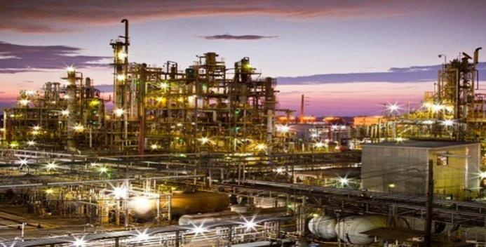 L'impianto Honeywell di Baton Rouge in Louisiana, USA