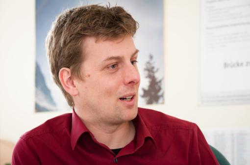Dr. Hans Schipper, Süddeutsches Klimabüro (© kit.edu )