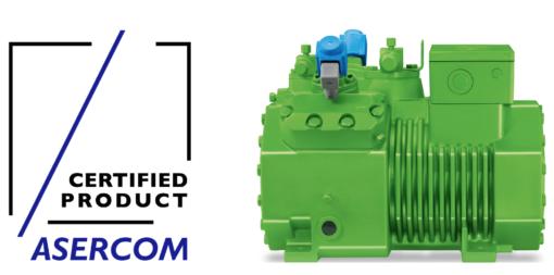 L'associazione internazionale di categoria ASERCOM ha certificato lo scorso anno 32 compressori e unità condensatrici BITZER