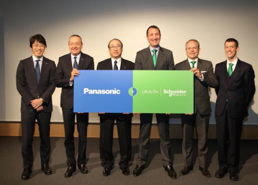 Global Partnership Panasonic And Schneider Electric