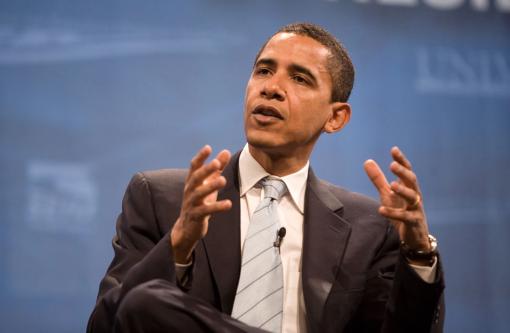 Barack Obama . courtesy: Center for American Progress Action Fund from Washington, DC