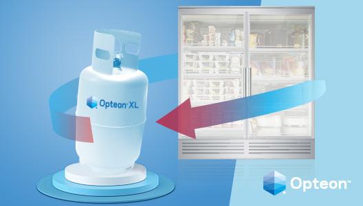Photo © Chemours. Le prestazioni dei sistemi di refrigerazione dei supermercati, combinati con il recupero del calore.