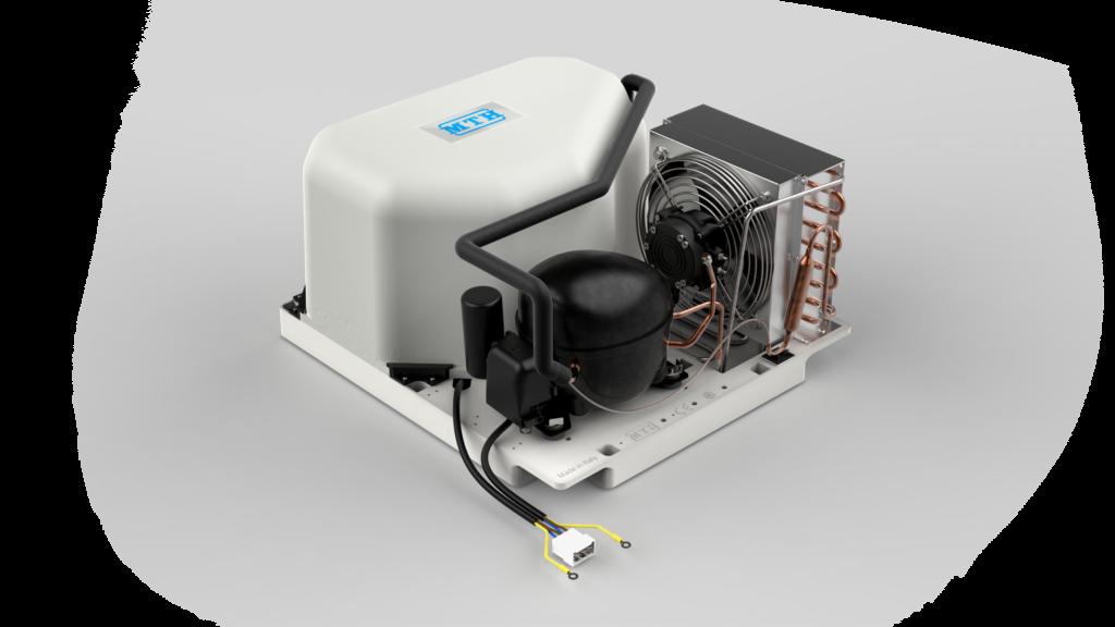 MTH presenta il nuovo monoblocco compatto per armadi refrigerati per il settore HoReCa